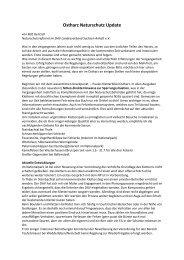 Ostharz Naturschutz Update - Klettern im Norden