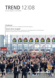 TREND 12 08 (Nr. 18) - Kleusberg GmbH & Co. KG