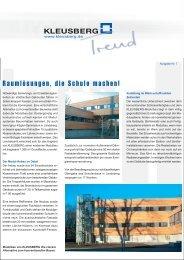 Trend 7.FH10 - Kleusberg GmbH & Co. KG