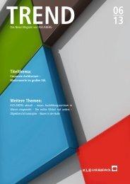TREND 06 13 (Nr. 26) - KLEUSBERG GmbH & Co. KG