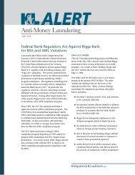 Anti-Money Laundering - K&L Gates