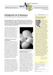 Erfolgreich im E-Business