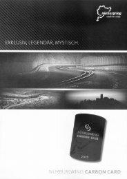 Die Nürburgring Carbon Card - Rhein-Zeitung