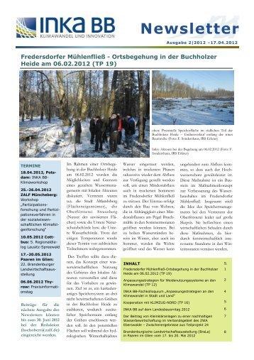 inka bb newsletter 2012_2 - Klima-Bob