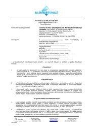 Viszonteladói keretszerződés - Klíma Áruház Épületgépészeti Kft.
