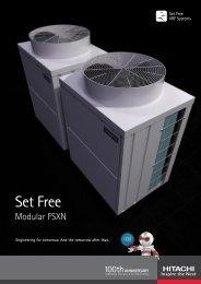 Hitachi Set Free sistems (PDF) - Rolvika