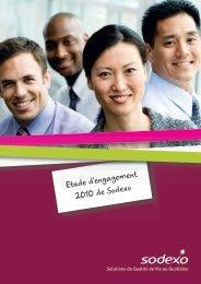 Etude d'engagement 2010 de Sodexo