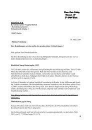 An die Bundeskanzlerin Angela Merkel, vom 10 ... - Klimaforschung