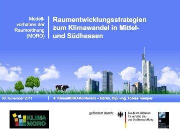 Kommunaler Handlungsleitfaden - KlimaMORO