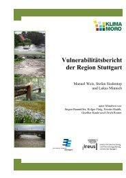 Vulnerabilitätsbericht der Region Stuttgart - KlimaMORO