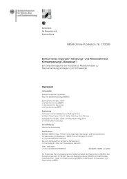 Entwurf eines regionalen Handlungs- und Aktionsrahmens ...