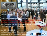 Teil 01 TF Klima Workshop Auftaktvorträge - Forschungsplattform ...