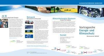 Vortragsreihe Energie und Klimaschutz - Arbeitskreis Regenerative ...