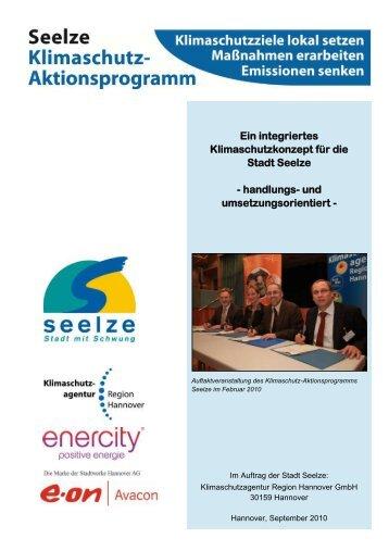 Ein integriertes Klimaschutzkonzept für die Stadt Seelze - handlungs ...