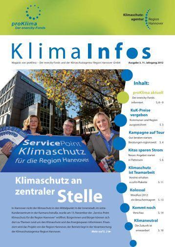 Stelle - Klimaschutzportal der Region Hannover
