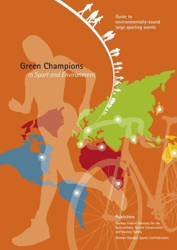 Green Champions - Klimaschutz im Sport