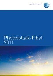 Photovoltaik-Fibel 2011 des Klima - Lokale Energie Agentur