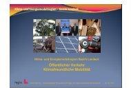 Klima- und Energiemodellregion – Bezirk Landeck - Übersichtskarte ...