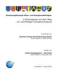 Umsetzungkonzept - Übersichtskarte der Klima- und Energie ...