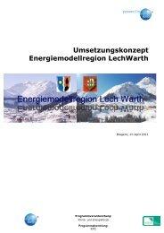 Umsetzungskonzept - Übersichtskarte der Klima- und Energie ...