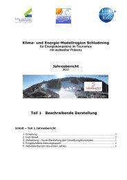 Jahresbericht - Übersichtskarte der Klima- und Energie ...