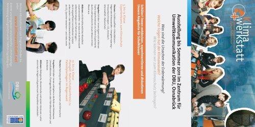 Ausstellung bis Sommer 2011 im Zentrum für ... - Klimawerkstatt