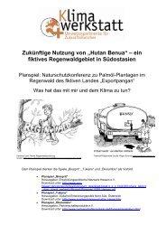 """Zukünftige Nutzung von """"Hutan Benua"""" – ein fiktives ... - Klimawerkstatt"""