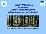 1. Begrüßung (Dr. Ulrich Wild, Klima-Werkstatt)