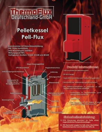 Pelletkessel Pell-Flux - Thermoflux Deutschland GmbH