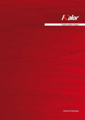 Stufe a pellet e legna General Catalogue - Klimaworld24