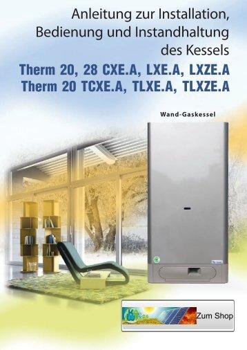 Anleitung zur Installation, Bedienung und ... - Klimaworld24