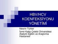 HBV/HCV KOENFEKSİYONU YÖNETİMİ - Klimik