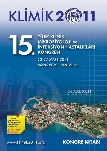 15. türk klinik mikrobiyoloji ve infeksiyon hastalıkları ... - Klimik