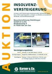 Bauunternehmung Stöcklmayer Gmbh & Co.kg Rinderlenweg 6