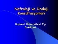 Nefroloji ve Üroloji Konsültasyonları - Klimik