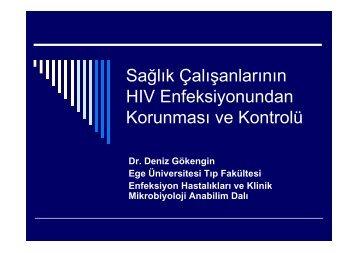 Sağlık Çalışanlarının HIV Enfeksiyonundan Korunması ve ... - Klimik