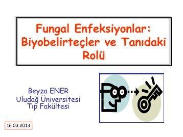 Fungal Enfeksiyonlar: Biyobelirteçler ve Tanıdaki Rolü - Klimik