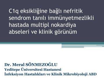 Nocardia spp - Klimik