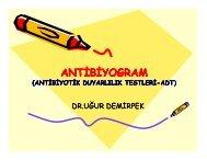 Antibiyogram - Klimik