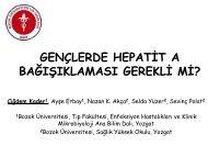 gençlerde hepatit a bağışıklaması gerekli mi? - Klimik
