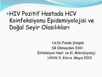 HBV-HIV ve HCV-HIV KOENFEKSÄ°YON TEDAVÄ°SÄ° - Klimik
