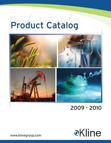 Product Catalog - Kline & Company
