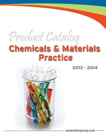 Chemicals Catalog - Kline & Company