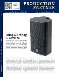 K_F GRAVIS 12 - Kling & Freitag