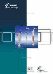 Magnetic Level Gauges - Klinger Danmark A/S