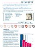 PTFE-pakninger - Klinger Danmark A/S - Page 3