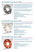 PTFE-pakninger - Klinger Danmark A/S - Page 4