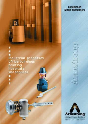 industrial processes office buildings printing hospitals warehouses