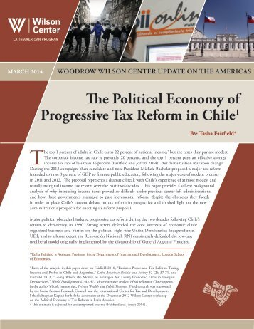 Tax Reform in Chile