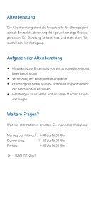 Gerontopsychiatrische Ambulanz - LVR-Klinik Bonn - Seite 5